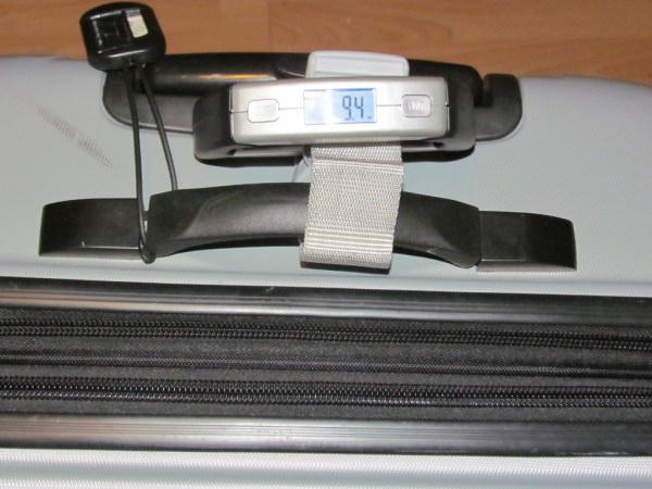 Travel Smart luggage scale