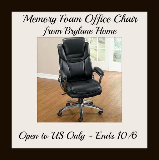 Memory Foam Office Chair