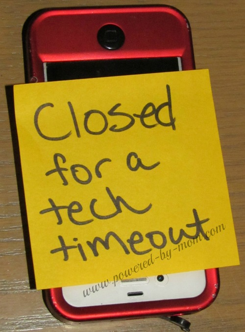 Technology Time Out!