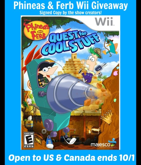 phineas and Ferb wii button