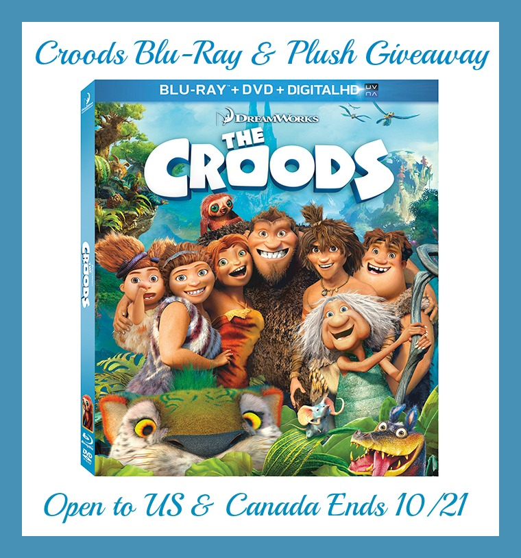 The Croods 2 Movie: The Croods Blu-Ray And Plush Toy Giveaway Ends 10/21