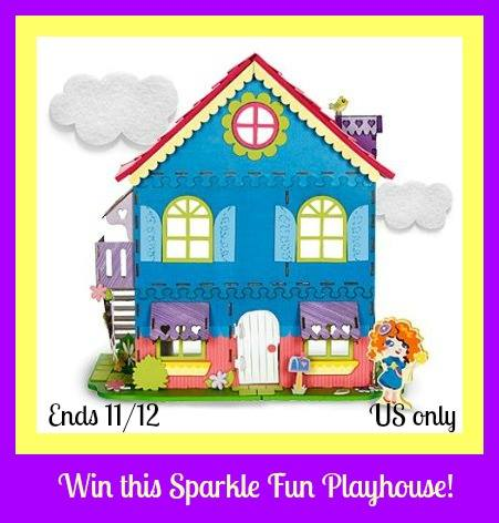 sparkle fun playhouse button