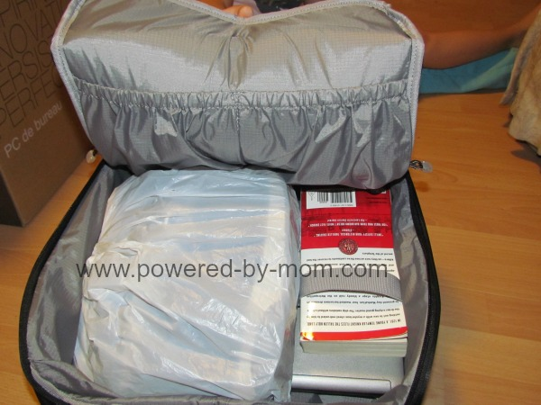 inside kayla bag