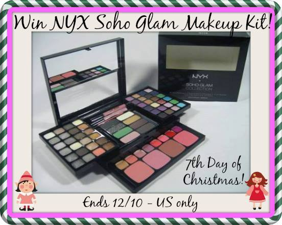 soho glam make up kit