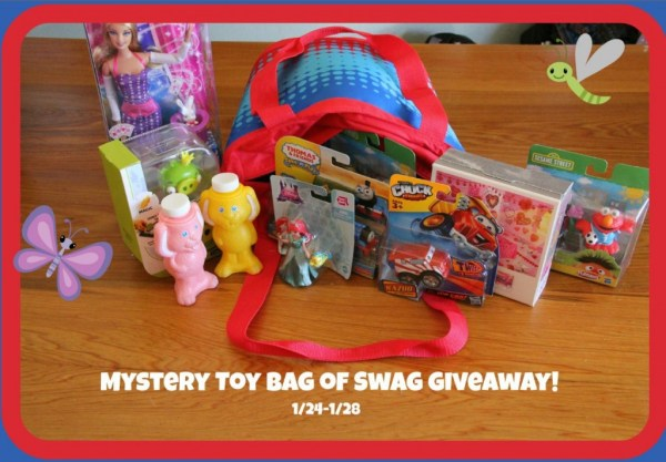 mystery toy bag of swag