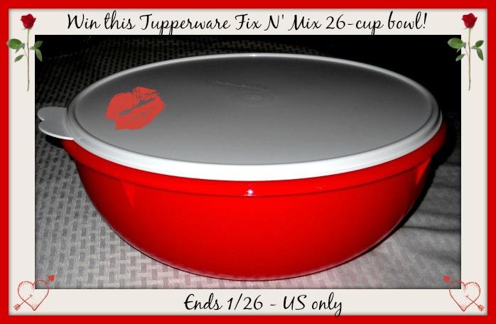 tupperware bowl