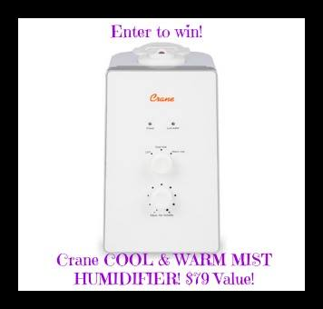crane cool midst humidifier