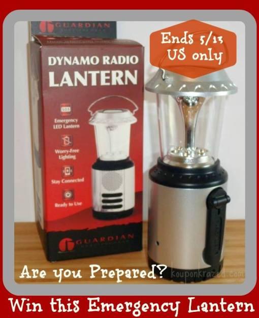dynamo radio lantern