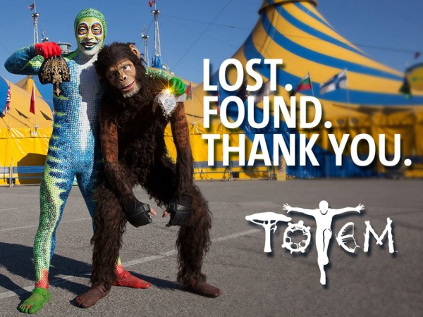 cirque lost and foudn