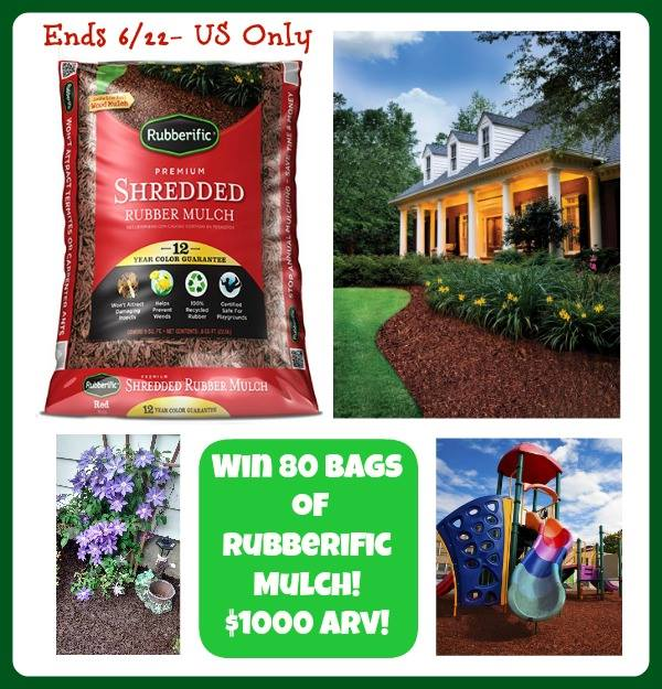 rubberific mulch