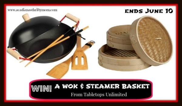 wok and steamer basket