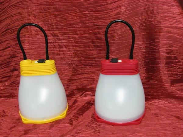2 solar lanterns