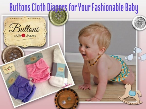 buttons cloth diapers