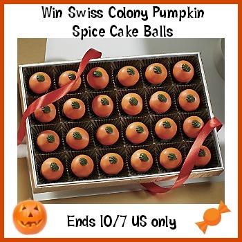 swiss colony spice pumpkin cake