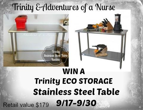 trinity eco storage table