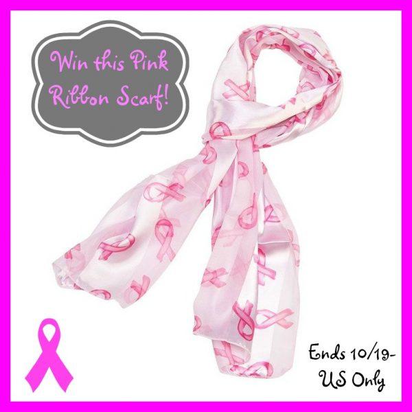 breast cancer scarf