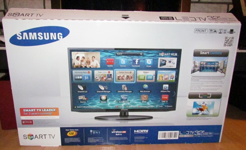 samsung tv box