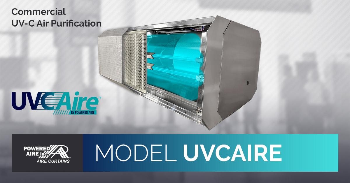 uvc aire uv c light system for air
