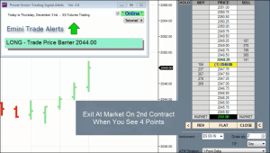 power emini alert software in action video