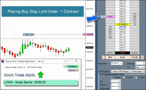 Power Emini Scalp Trades Live Action Video – 3 Types of Scalp Trades