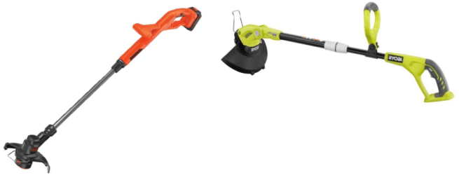 Black and Decker Trimmer VS Ryobi P2052