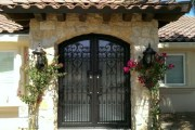 Unique Home Design Estate Double Security Doors