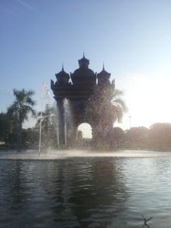 {Laos} Arc de Triomphe lookalike in Vientiane