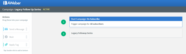 Aweber campaigns