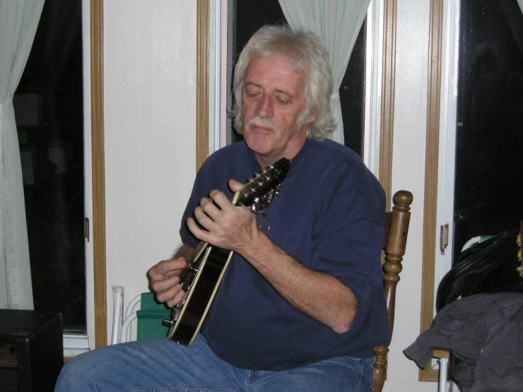 Don on Mandolin - his favourite instrument