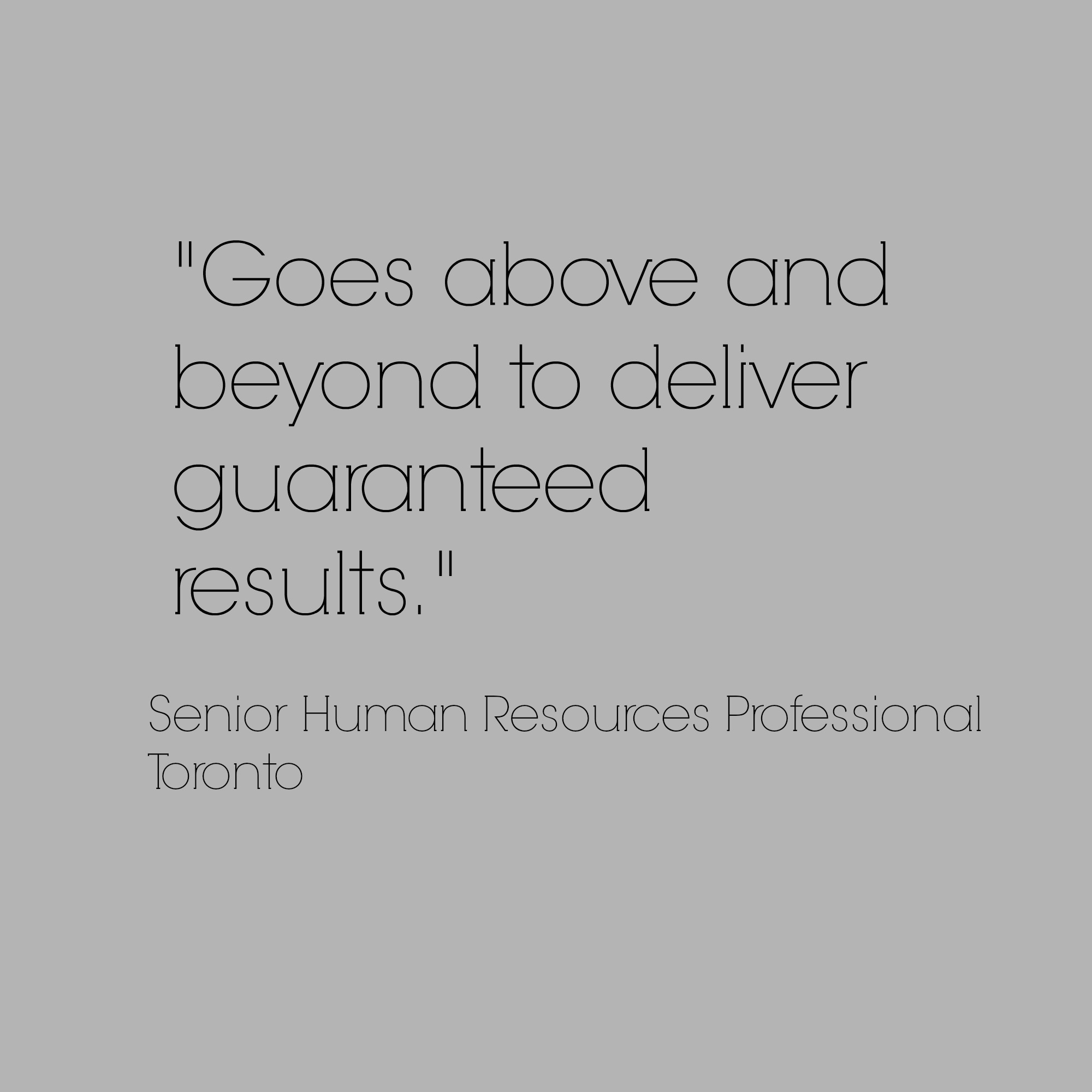 results oriented HR professional, recruitment, employer branding