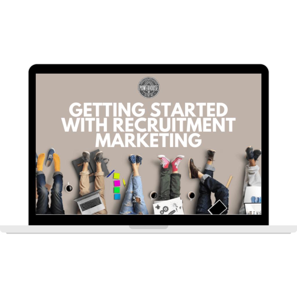 Recruitment marketing online course