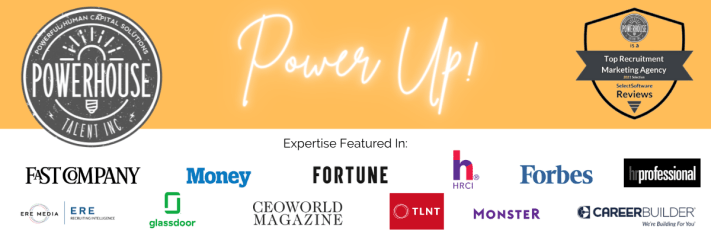 Image of sites where Powerhouse Talent Employer Branding agency has been featured