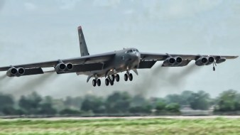 B-52 It looked like it was just hanging in the sky