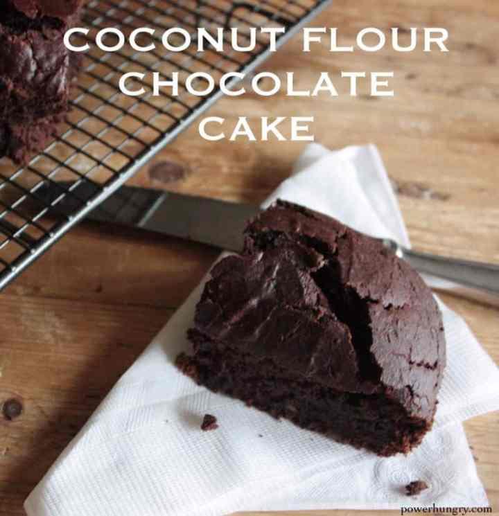 Choc Coconut Flour Cake 2