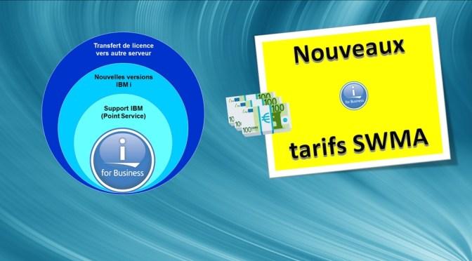 Nouveaux tarifs sur la maintenance logicielle IBM i