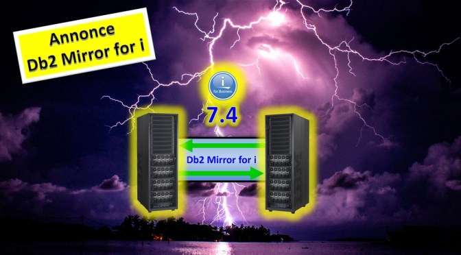 Annonce Db2 Mirror for i