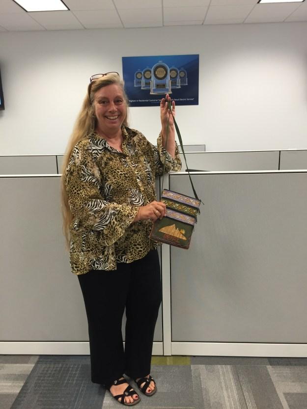 Customer Care agent Cheryl Hood at Champion Energy