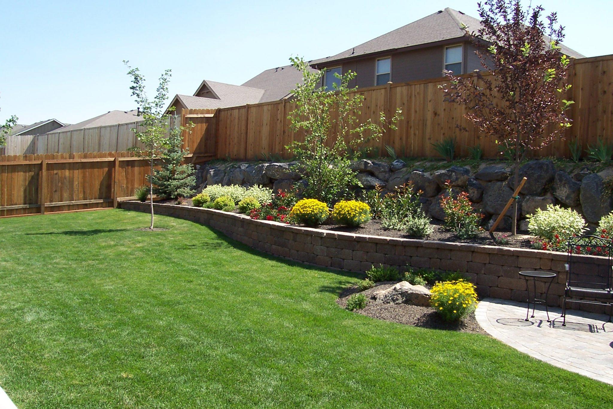 Idaho backyard