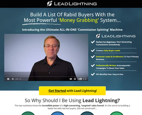 lead lightning sign up get yours today and signup power lead