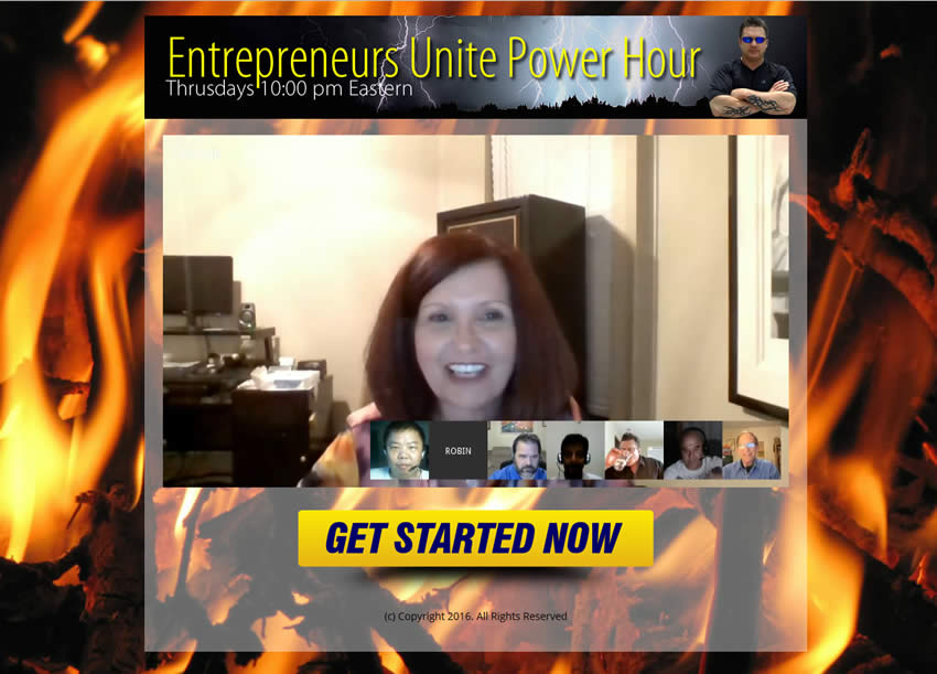 New Webinar Tonight Entrepreneurs Unite Power Hour