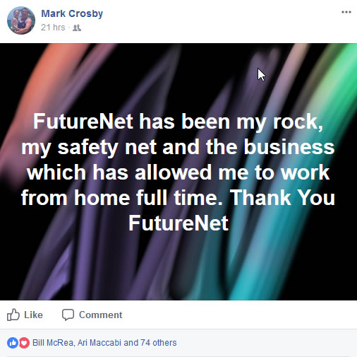 Why FutureNet? Here is what was written in Facebook about it