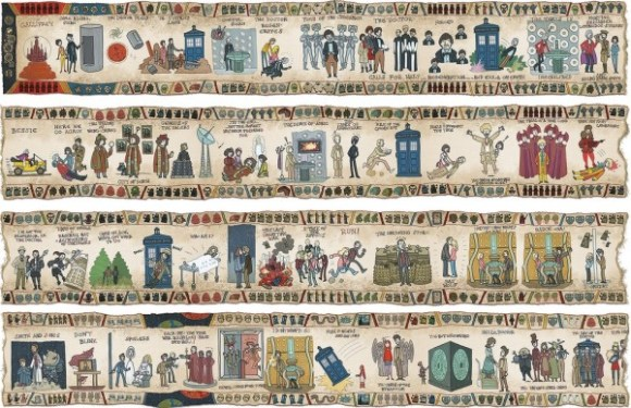 Dr. Who Tapestry copy