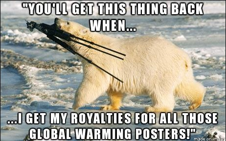 Polar Bear Poster copy