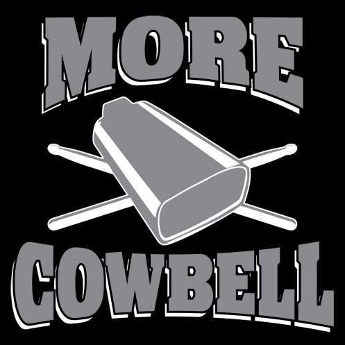 More Cowbell copy