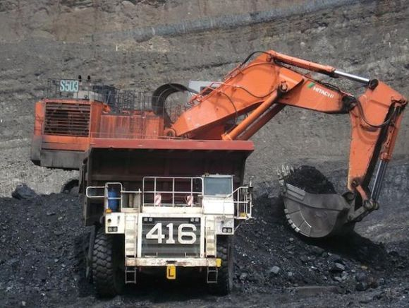 A Kaltin Prima coal mine in Indonesia