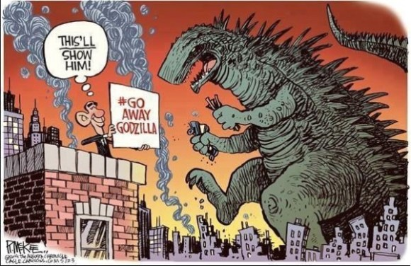 Obama Godzilla copy