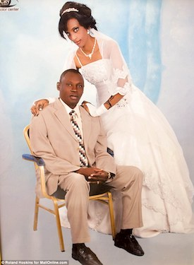 Meriam Ibrahim and Daniel Wani