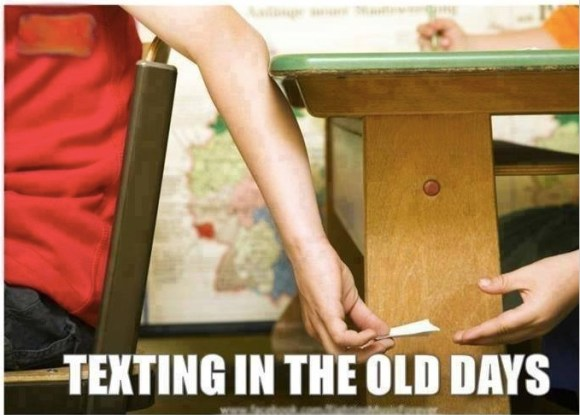 Old Fashioned texting copy