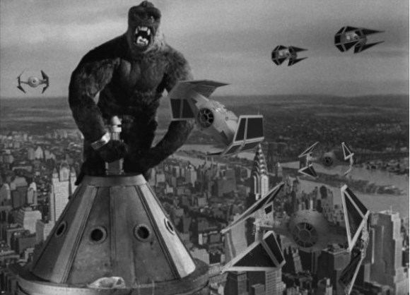 King Kong Star Wars copy