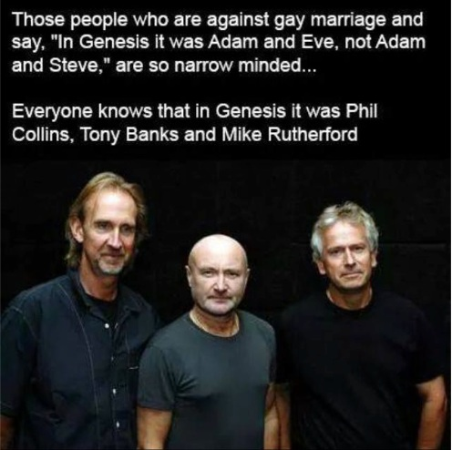 Actually I think the right answer here demands Peter Gabriel and Steve Hackett, too.